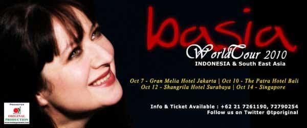 Basia World Tour 2010 di Indonesia