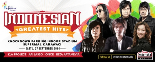 Indonesian Greatest Hits Concert 2014