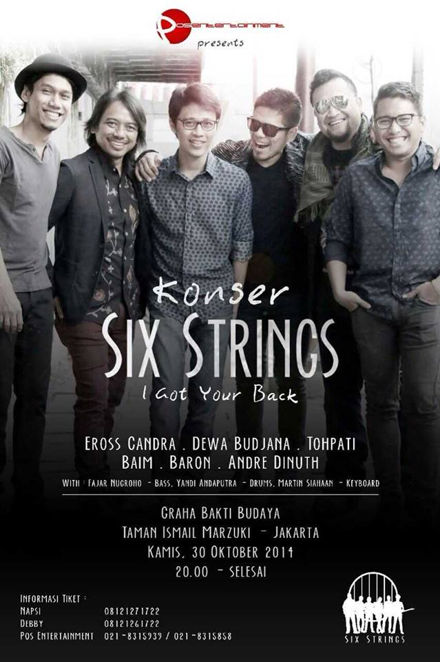 Konser Six String 2014
