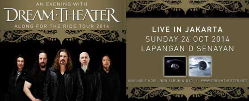An Evening With DREAM THEATER Live in Jakarta 2014