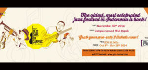 """The 37th Jazz Goes To Campus """"The Ultimate Jazzperience"""""""