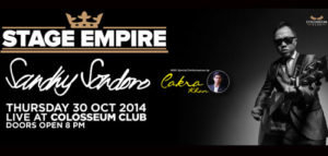 Stage Empire Menampilkan Sandhy Sandoro