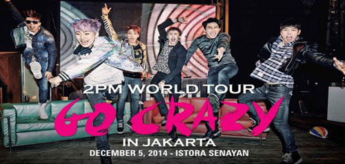 2PM World Tour 'Go Crazy' In Jakarta