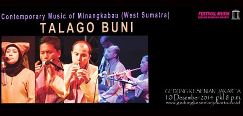 Contemporary Music Of Minangkabau dari Talago Buni