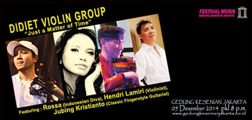 "Didiet Violin Group: ""Just a Matter of Time"""