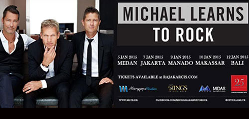 Michael Learns To Rock Indonesia Tour 2015