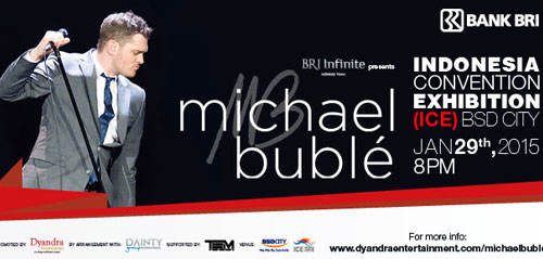 Konser Michael Buble di Indonesia