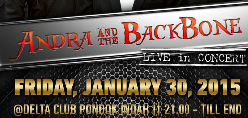 Andra And The Backbone Live in Concert di Jakarta