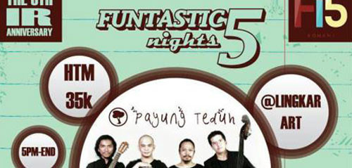 The Funtastic 5 Night di Bali