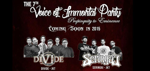 Konser Voice of Immortal Party di Bali
