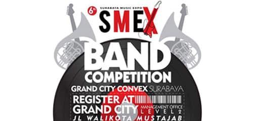 Ajang Kompetisi SMEX Band 2015 di Surabaya