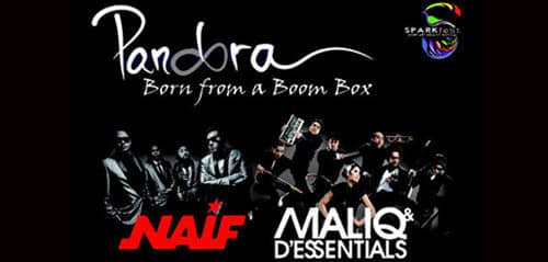 Naif & Maliq n D'Essentials di Pensi Sparkfest Yogyakarta