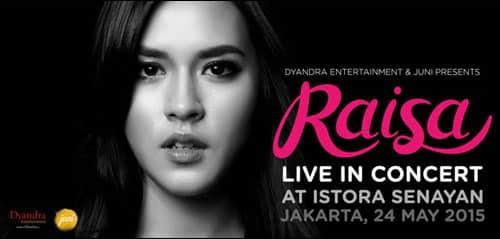 Raisa Live in Concert di Jakarta
