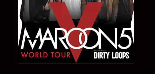 Maroon 5 World Tour 2015 di Indonesia