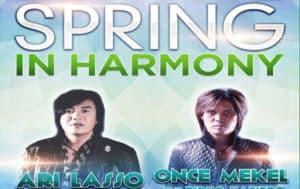 Ari Lasso & Once Mekel di Spring In Harmony