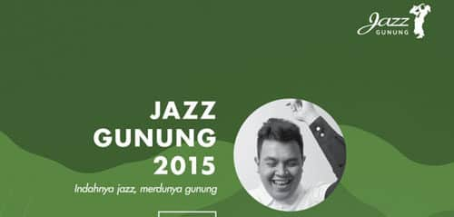 Tulus dan Andien di Konser Jazz Gunung Bromo