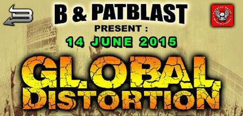 Global Distortion Destroyed #3 di Happy Melody Cafe