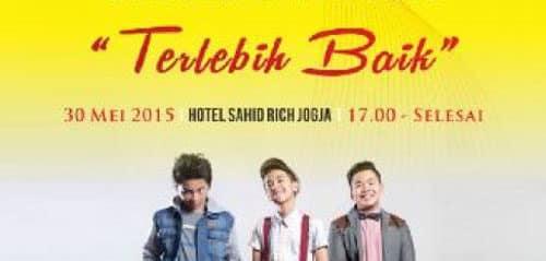Konser CJR Terlebih Baik di Yogyakarta