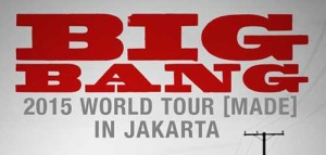 Bigbang 2015 World Tour [MADE] in Jakarta