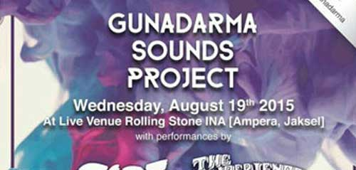 "Festival Musik ""Gunadarma Sounds Project"""