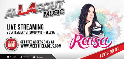 Allabout Music Concert with Raisa di Pontianak