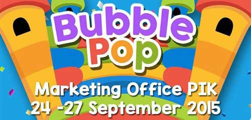 Kompetisi Menyanyi di Bubble Pop Action 2015