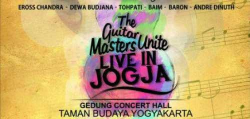 Konser Six Strings di The Guitar Masters Unite Live In Jogja