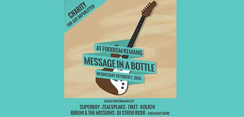 Message in The Bottle di Foodism Kemang