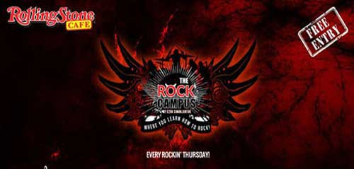 Ngerock Bareng Bad Sample di The Rock Campus
