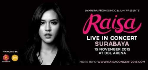Raisa Live in Concert di Surabaya