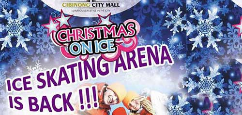 Christmas On Ice with Rio Febrian di Cibinong