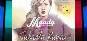 "Single Terbaru Maudy Ayunda, ""Jakarta Ramai"""