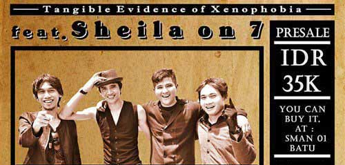 Konser Tangible Evidence of Xenophobia feat Sheila on 7