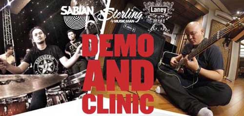 W/W Music Fair & Demo Clinic di Kota Malang
