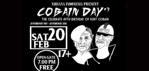 """Cobain Day"", The Celebrate 49th Birthday of Kurt Cobain"