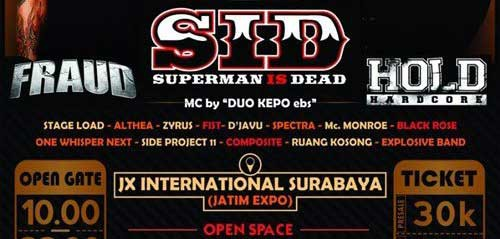 Heroical Vol.1 Konser Superman Is Dead di Surabaya