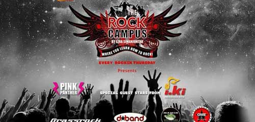 Grassrock Tampil di The Rock Campus