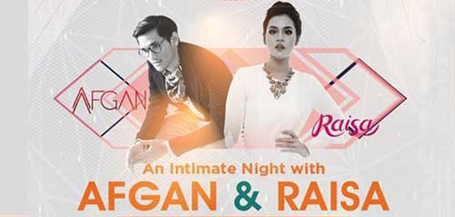 An Intimate Night with Afgan & Raisa di Kota Malang