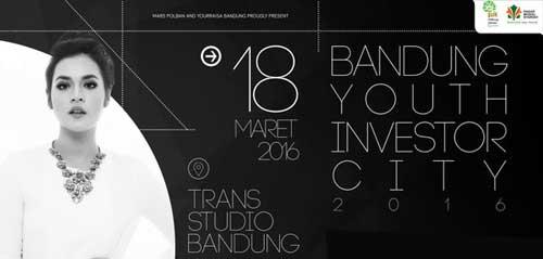 Raisa Meriahkan Bandung Youth Investor