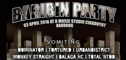 Baribin Party di R Music Studio Cibaduyut