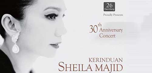 Saksikan Kerinduan Sheila Majid di 30th Anniversary Concert