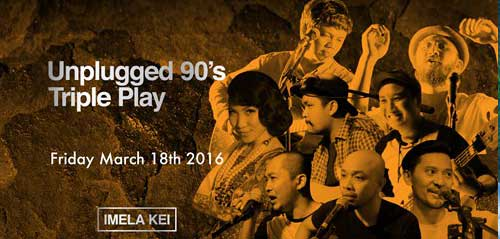 Unplugged 90's Triple Play di The Foundry No.8
