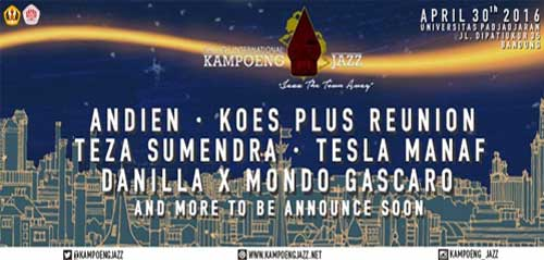 City of Jazz 8th International Kampoeng Jazz 2016