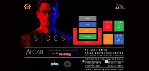 Konser Afgan SIDES di The Trans Luxury Hotel Bandung