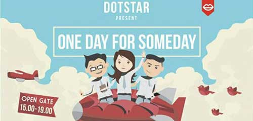 One Day For Someday Persembahan Dotstar