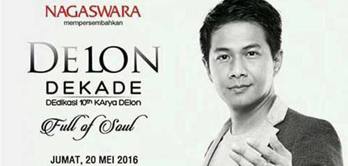 "DEdikasi 10th KArya DElon ""Full of Soul"" di Plaza Semanggi"