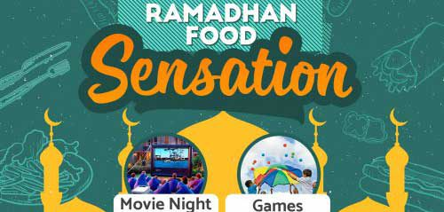 Korek Jazz vs Best Friend Project di Ramadhan Food Sensation 2016