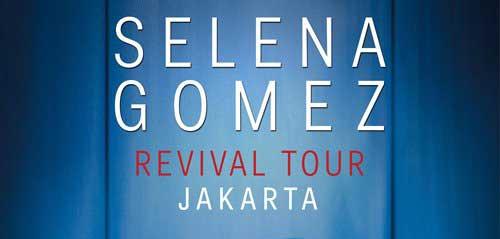 Selena Gomez Revival Tour Jakarta di ICE BSD Tangerang
