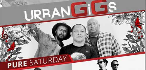 Danilla & The Experience Brothers Semarakkan UrbanGiGs Pure Saturday