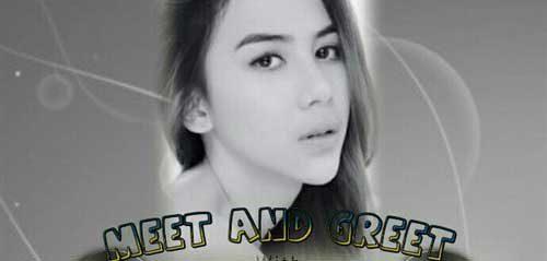 Meet and Greet dengan Adinda Thomas di Cibubur Jakarta